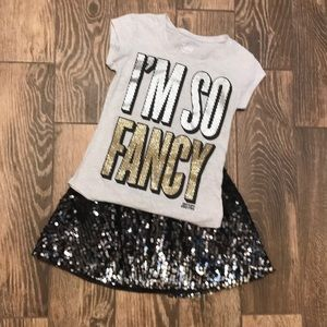 "Justice ""I'm So Fancy"" t-shirt"